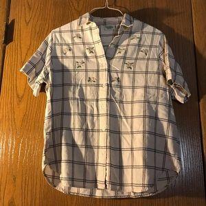 Buttondown Blouse 100% Cotton